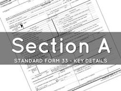 A. Solicitation/Contract Form (SF33)